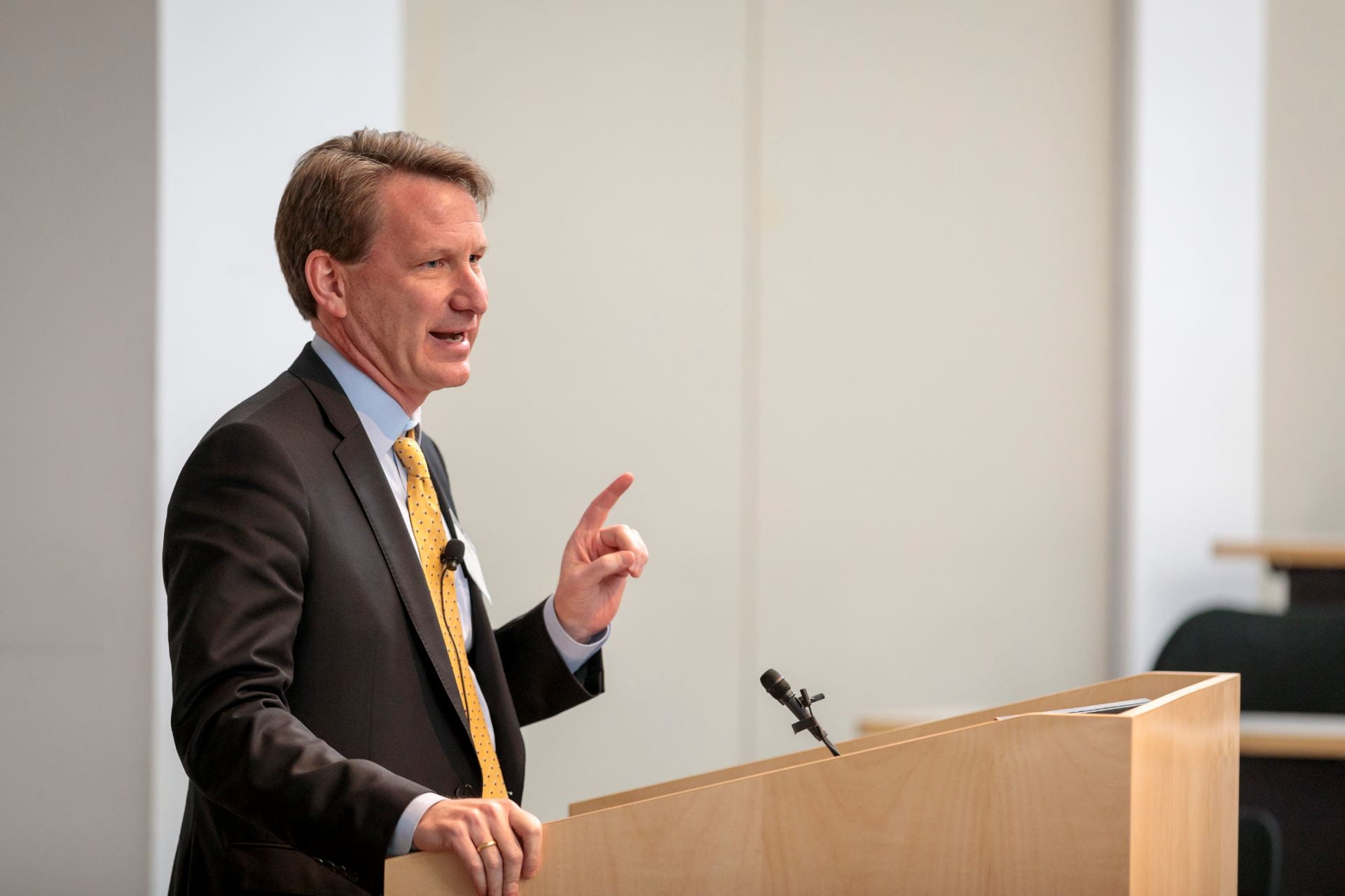 """NCI Director Norman E. """"Ned"""" Sharpless, MD, gives a keynote speech """"Impressions of the New NCI Director"""""""