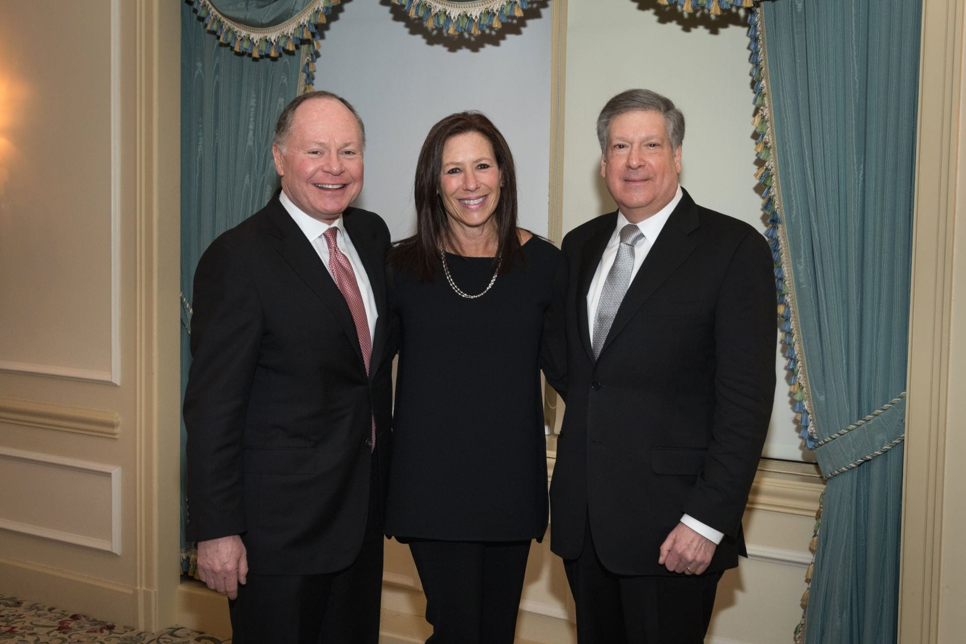 Andy Bursky, Jane Bursky, and Bob Schreiber