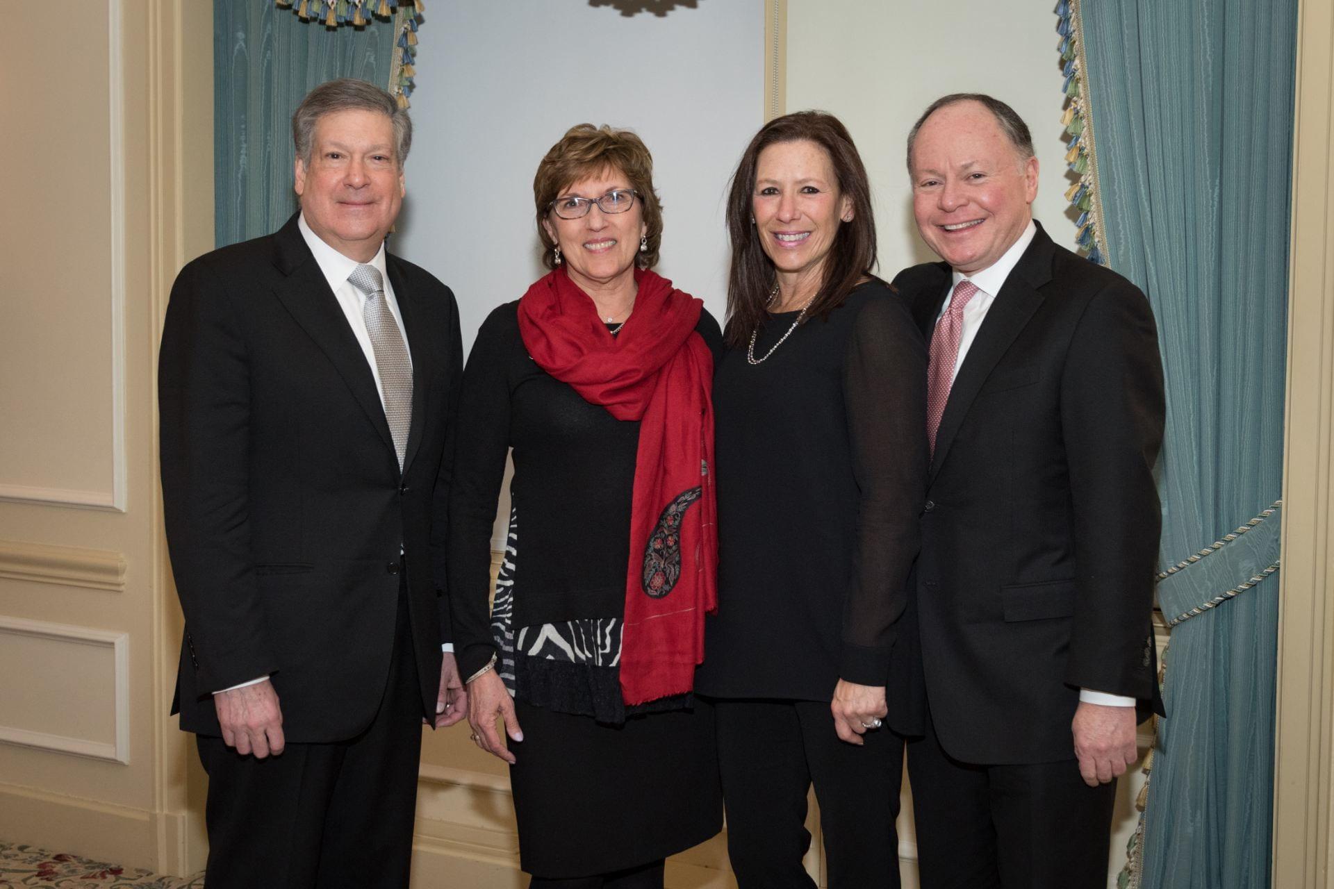 Bob Schreiber, Dale Schreiber, Jane Bursky and Andy Bursky