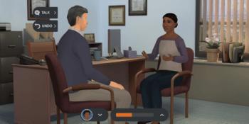 Screenshot of Kognito simulation
