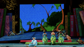 Seussical wins Best Set Design of a Musical for 2014