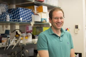 Erik Herzog is an ISP Faculty Fellow and the founder of the St. Louis Neuroscience Outreach Program. (ISP PHOTO: Barajas)