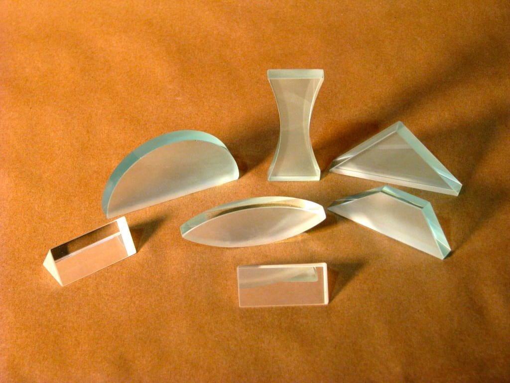 Acrylic Lens Prism Set