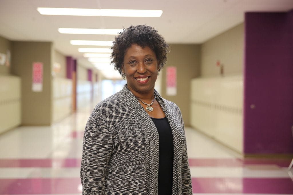 Karis Jackson, 8th grade science teacher at Hazelwood Central Middle School in the Hazelwood School District, was named the 2016 Outstanding Middle School Educator by the Science Teachers of Missouri (STOM) – the state chapter of the National Science Teachers Association.