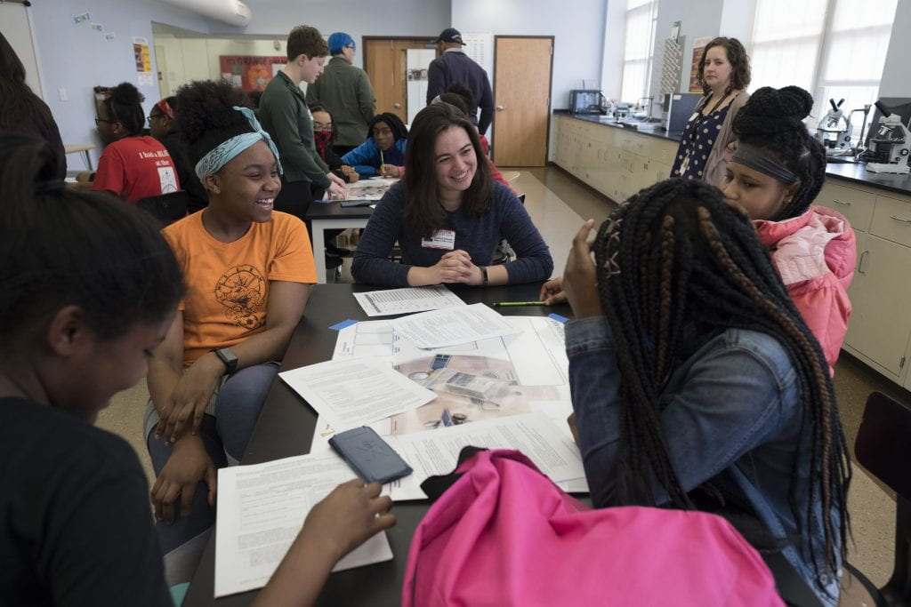 Hawthorn InvestiGirls program takes homework help to next level