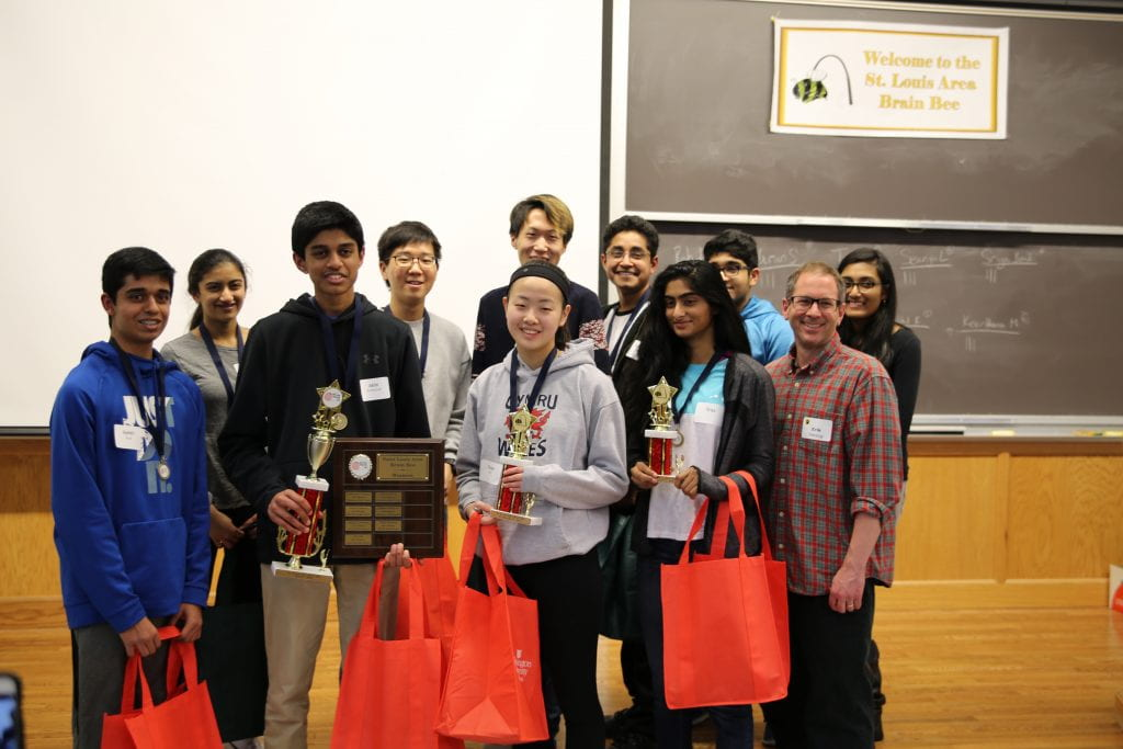 Brain power on display at annual WashU Brain Bee