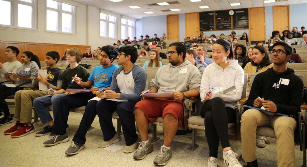Record turnout for WashU's Brain Bee competition