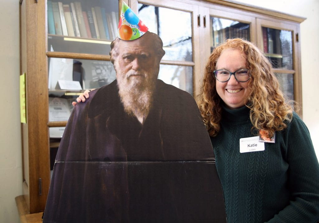 ISP celebrates Darwin Day, names new Kirk Teacher Fellow