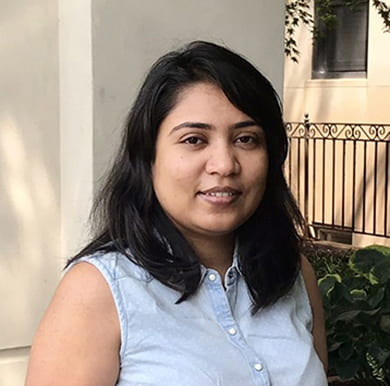 Welcome our new postdoc Dr. Maneesha Pandey!
