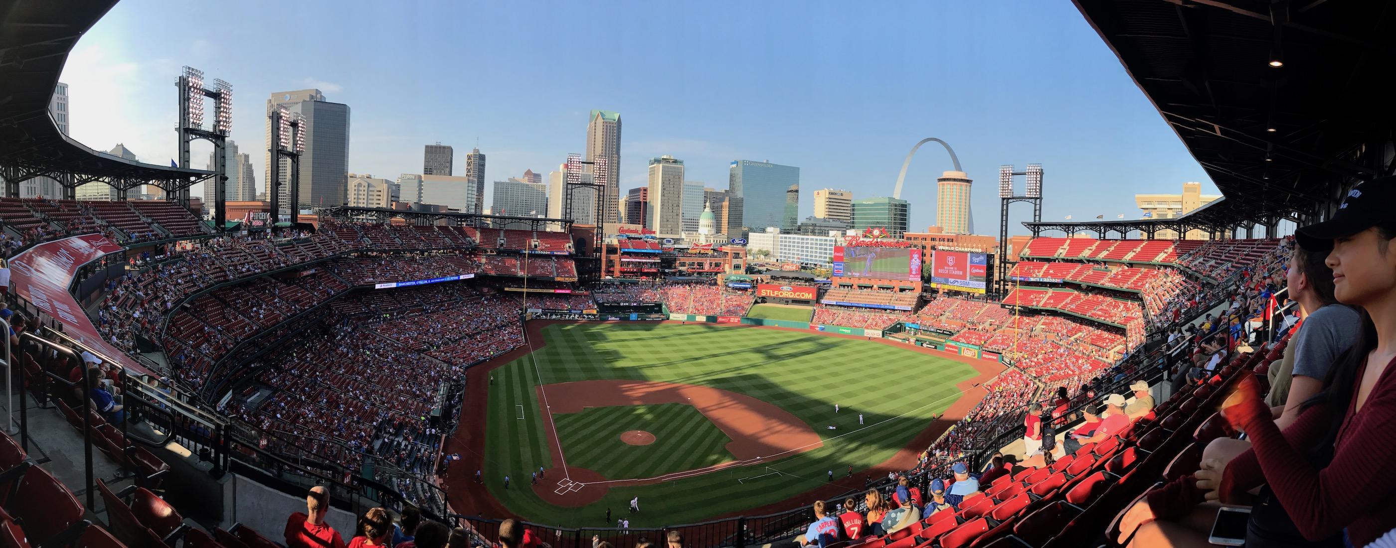 St. Louis Cardinals Stadium Bleacher View