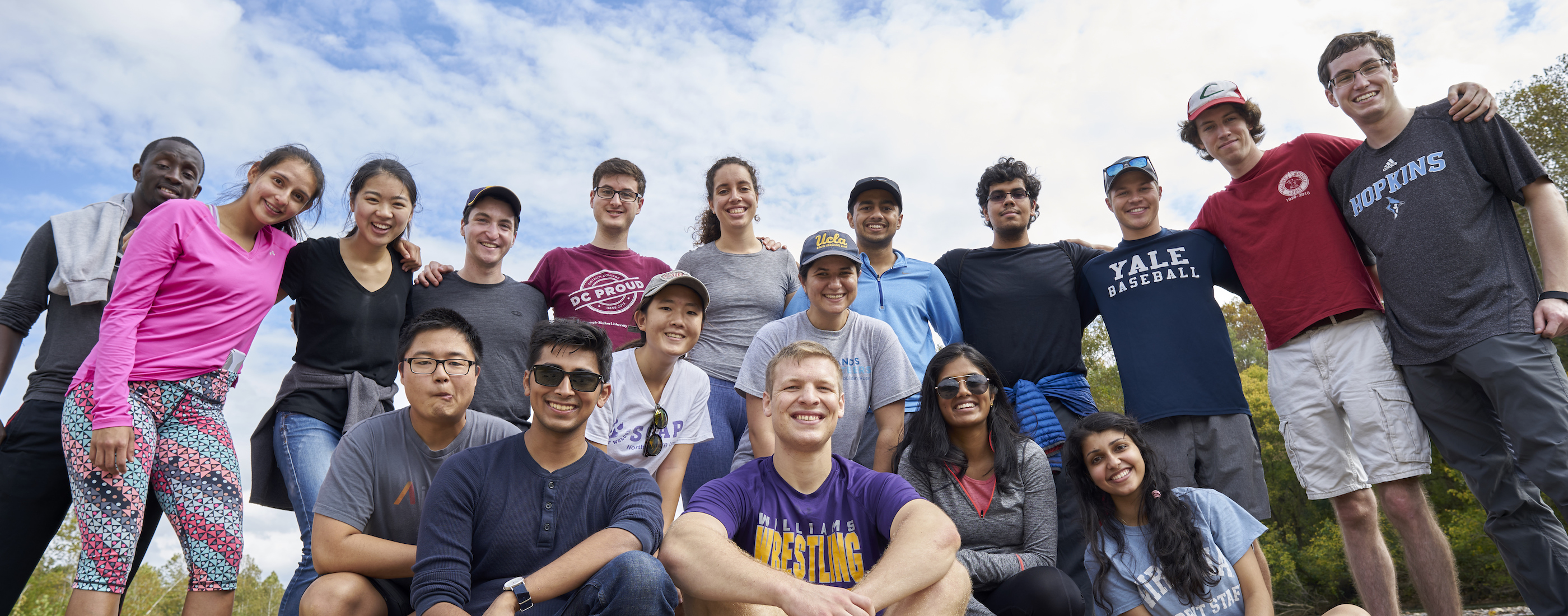 Student Group Picture on Hiking Trip