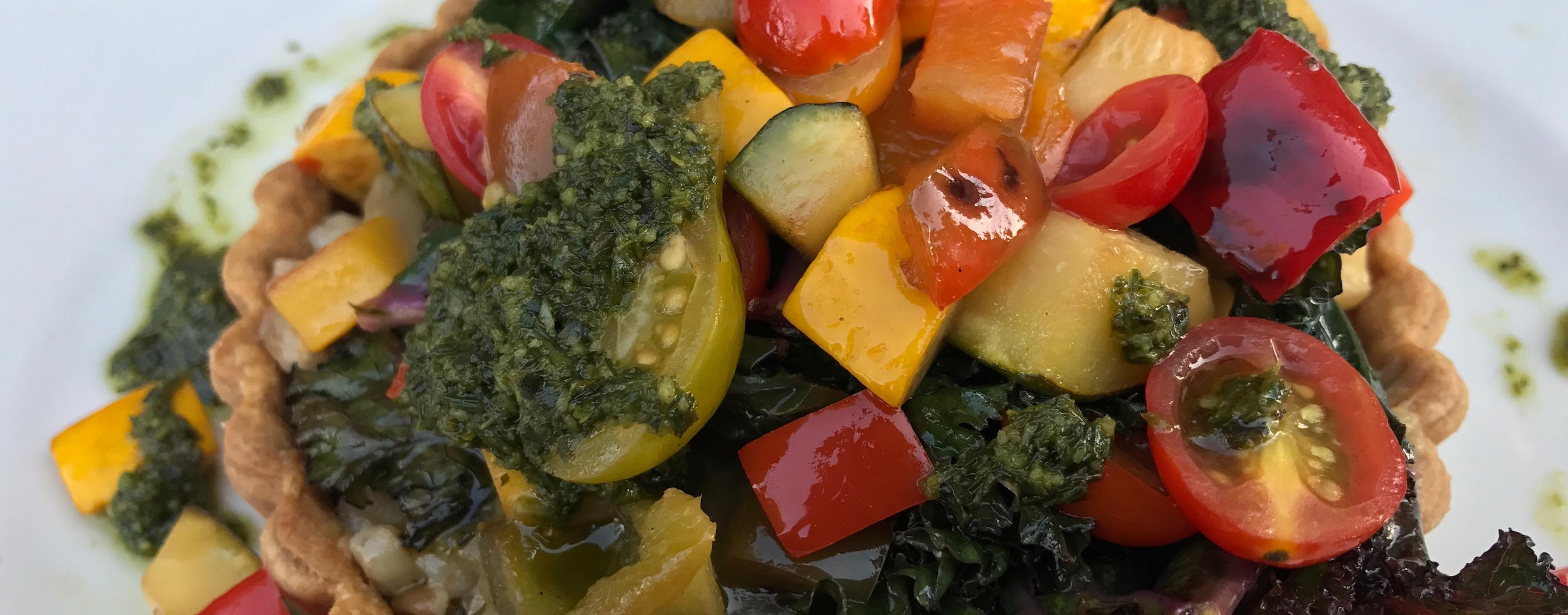 Vegetable Tart from Brasserie