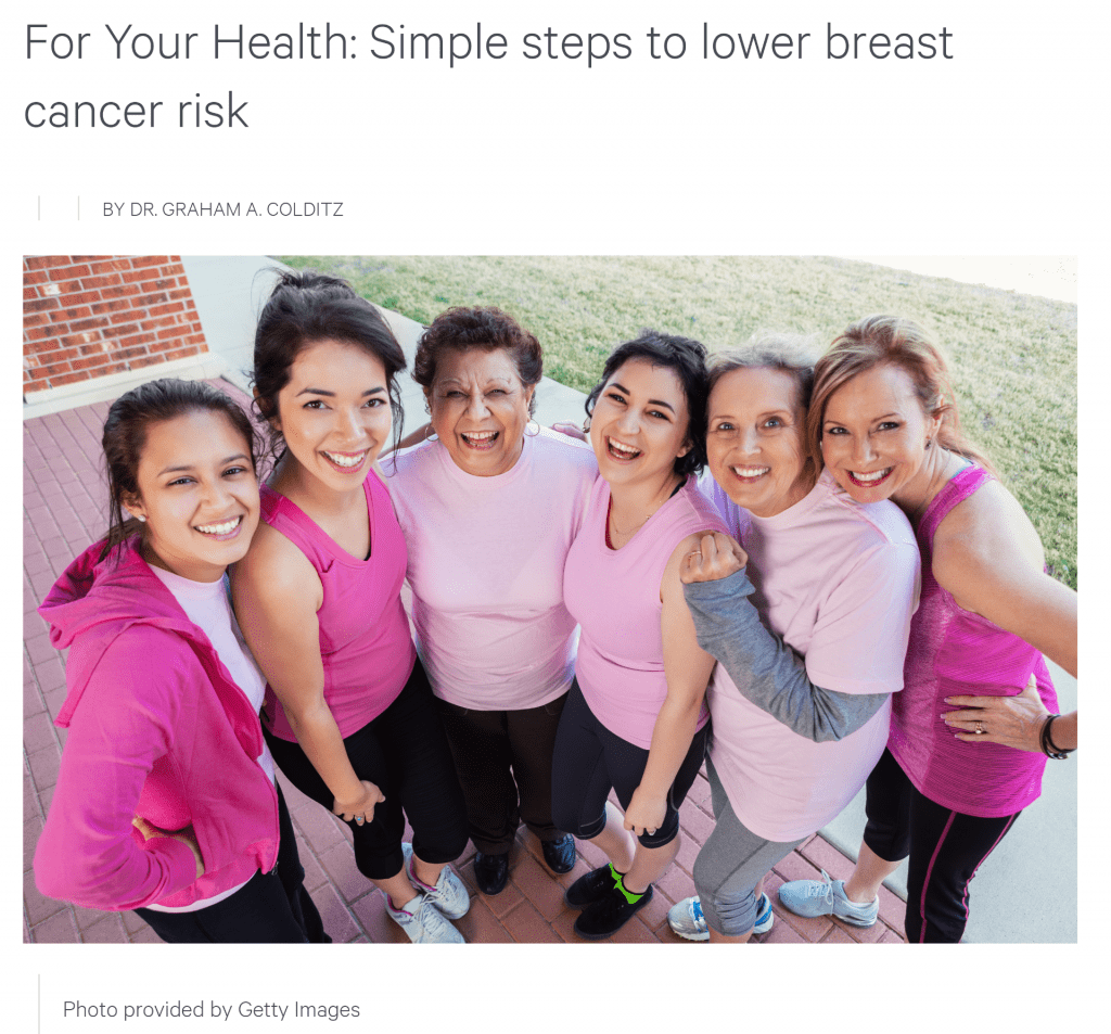 Simple Steps to Lower Breast Cancer Risk