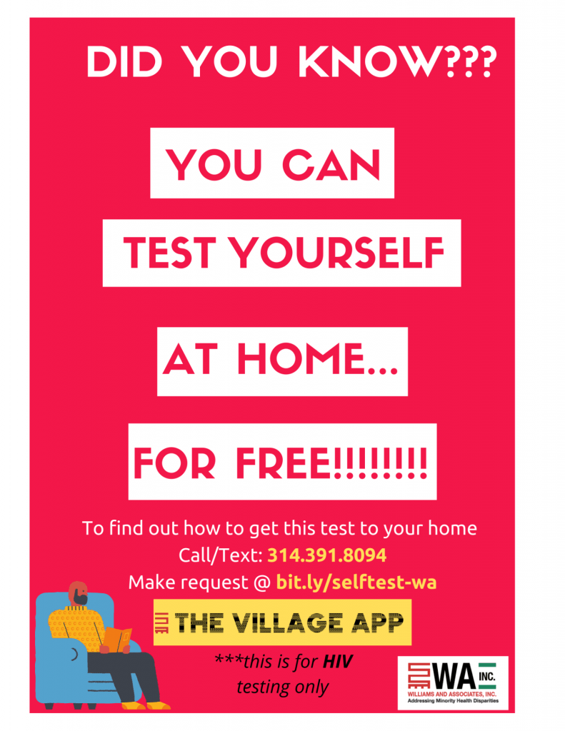 Free HIV testing at home