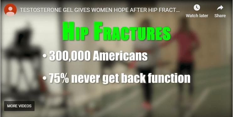 Ivanhoe Testosterone Gel: Hope After Hip Fractures Video