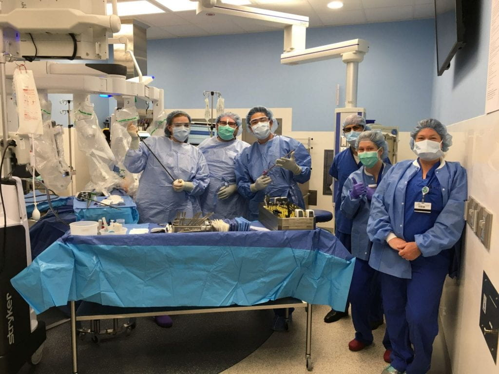 Nurses Receive Robotics Training at WISE Lab