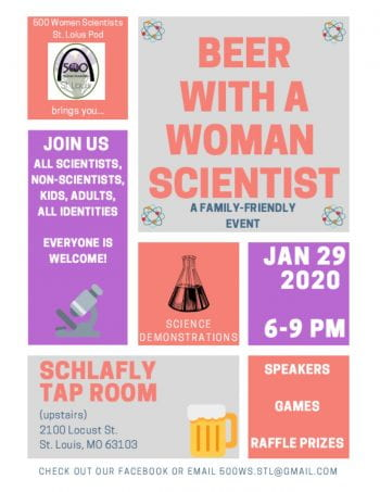 Beer with a Woman Scientist 2020