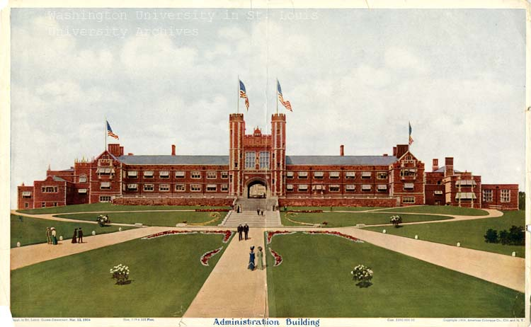 Brookings Hall in 1900