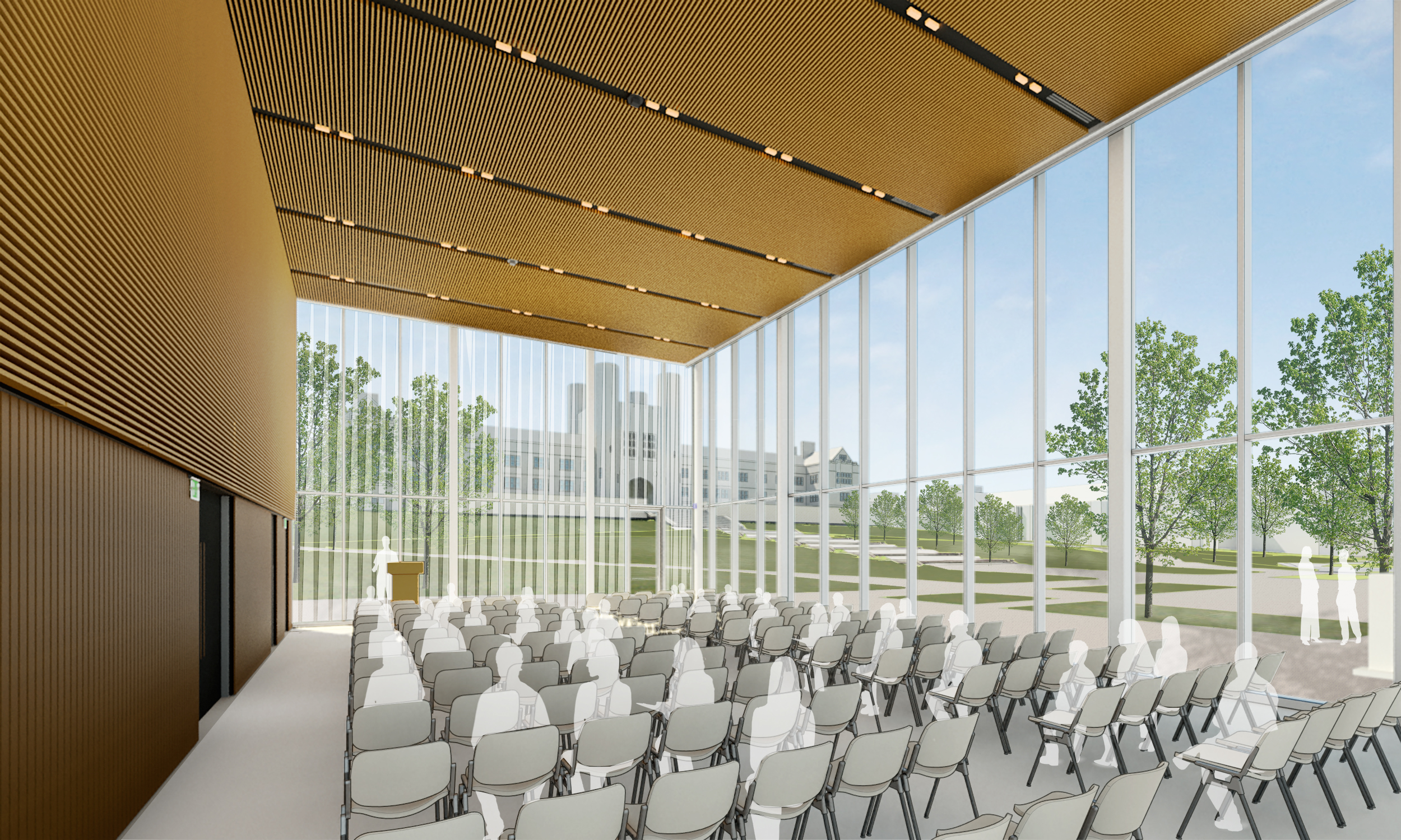 Gary M  Sumers Welcome Center | Campus Next | Washington University