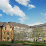 Rendering of the new McKelvey Hall to be built on WashU's Danforth campus