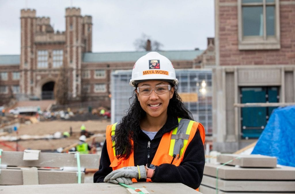 Women at work – Maya Wong: Trading a backpack for a hard hat