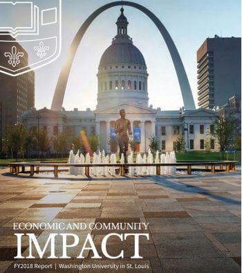 Economic and Community Impact FY2018 Report | Washington University in St. Louis