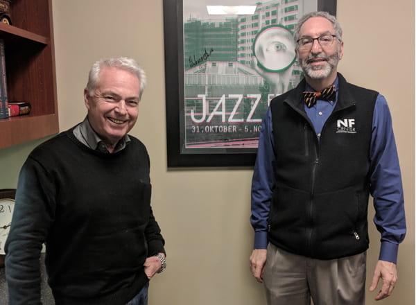Washington University NF Center Hosts International Glia Expert