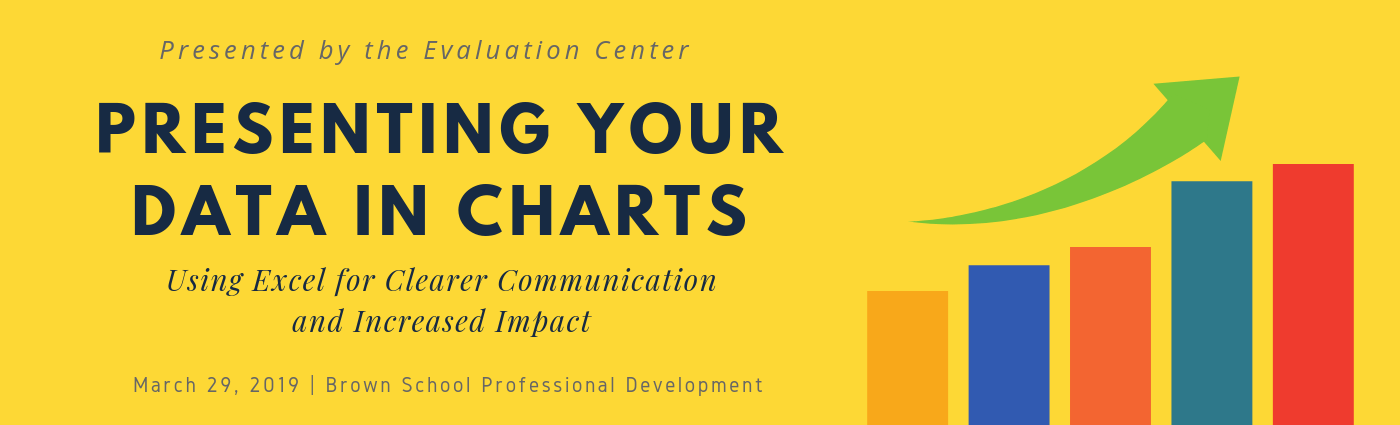 Presenting Your Data in Charts, Professional Development Workshop presented by Evaluation Center