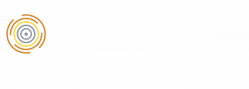 Evaluation Center logo with white text
