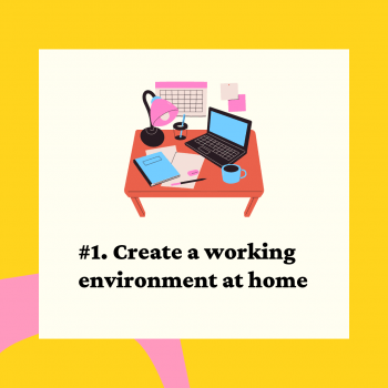 Lesson 1: create a working environment at home
