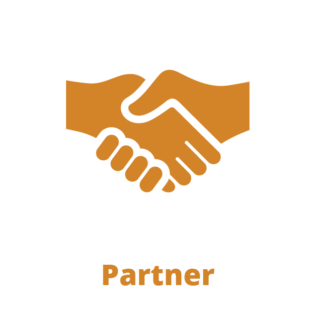 Partner handshake icon