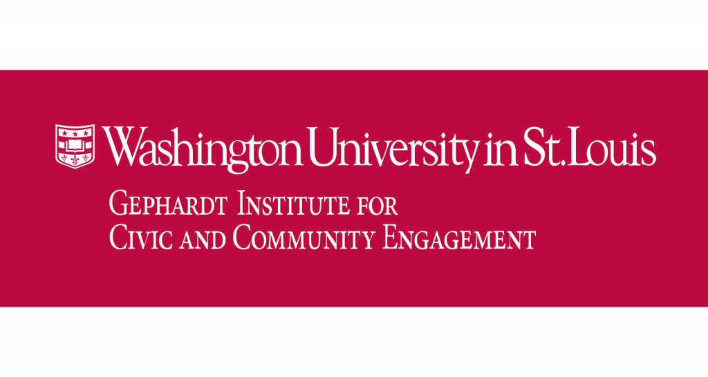 Gephardt Institute for Civic and Community Engagement text logo
