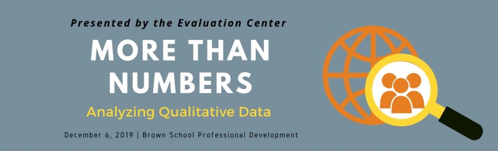 Qualitative Data Analysis Training