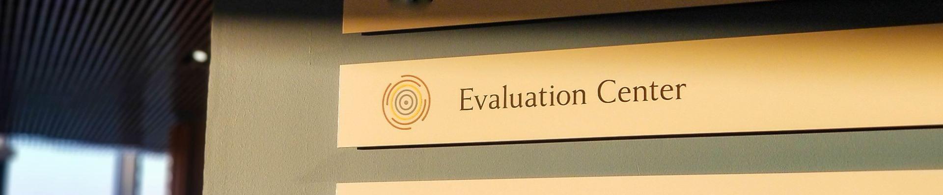 Evaluation Center Door Tag