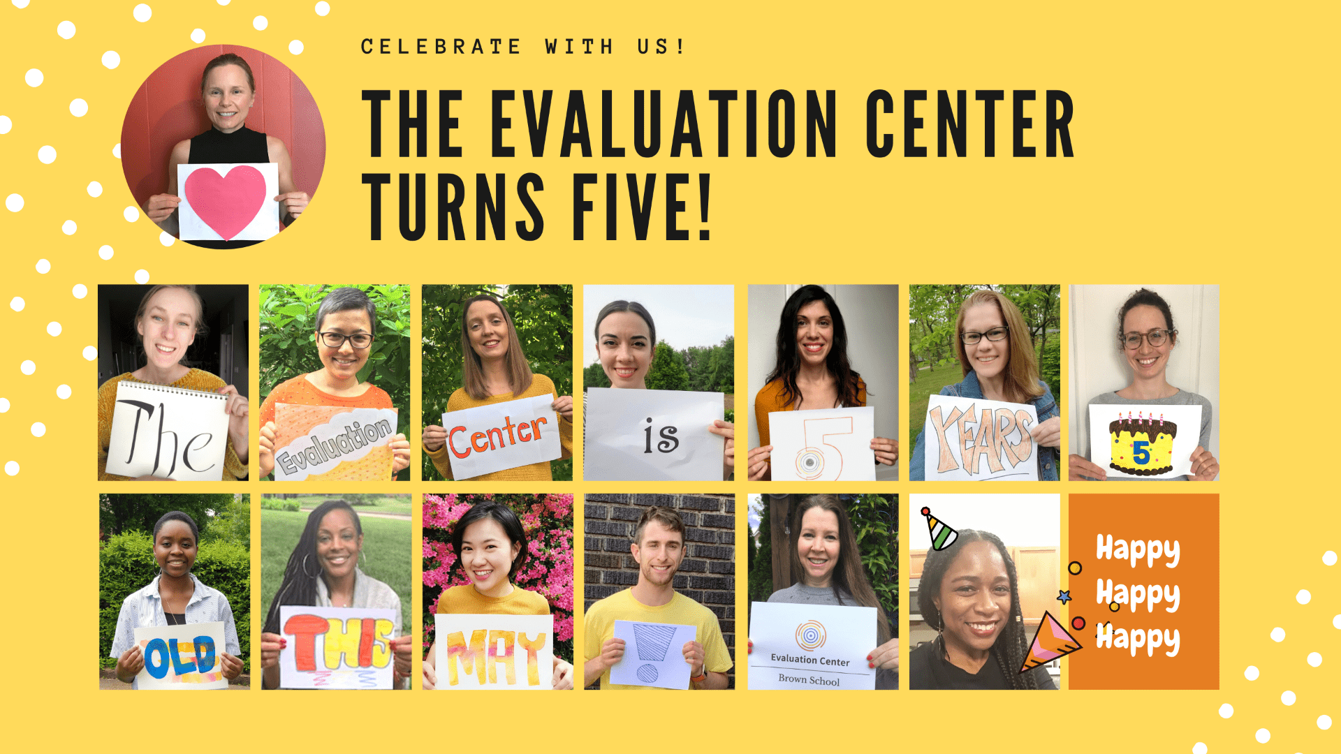 The Evaluation Center Turns Five