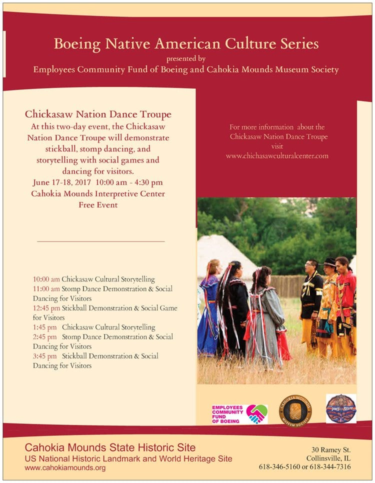 Boeing Native American Culture Series with the Chickasaw