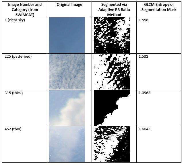 SWIMCAT samples and segmentation masks