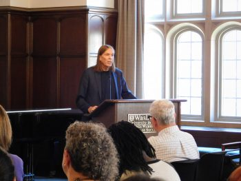 NYU social science theorist James Jaccard speaks at Brown School