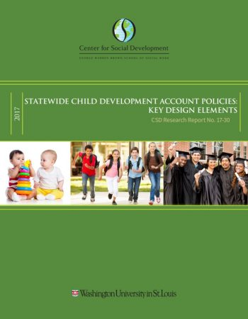 Report explores statewide Child Development Account policies
