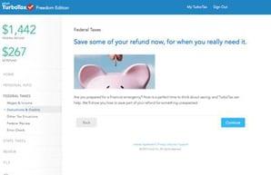 'Refund to Savings' program largest-ever national savings experiment