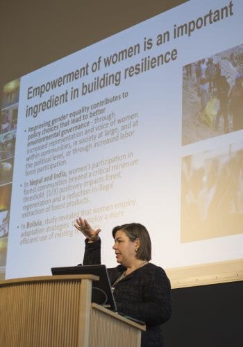 Symposium highlights social justice aspects of climate change