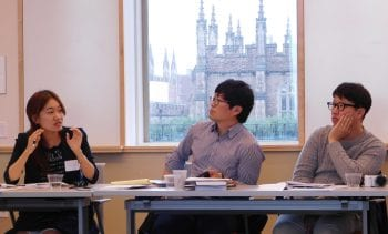 CSD hosts seminar for visitors from South Korea