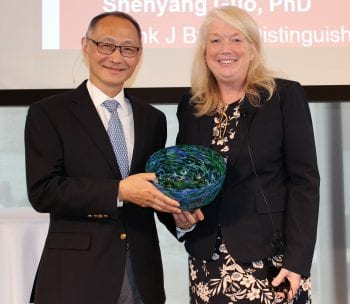 Shenyang Guo receives Distinguished Faculty Award