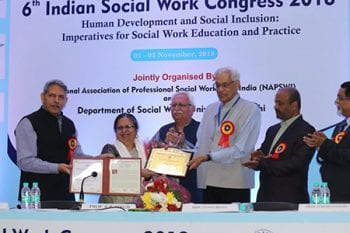 Brown School alumna receives lifetime achievement award in India