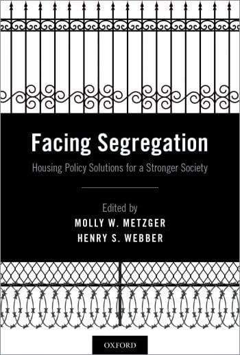 Released today: 'Facing Segregation' focuses on housing policy solutions