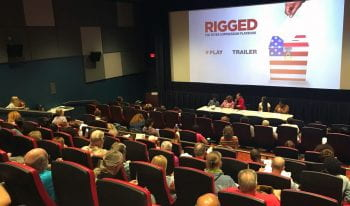 Rigged: Second screening brings voter suppression discussion to the community