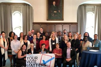 Second Voter Engagement Summit Brings Leaders to the Brown School