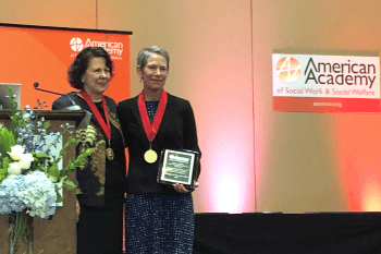CSD's Margaret Sherraden inducted into American Academy of Social Work and Social Welfare