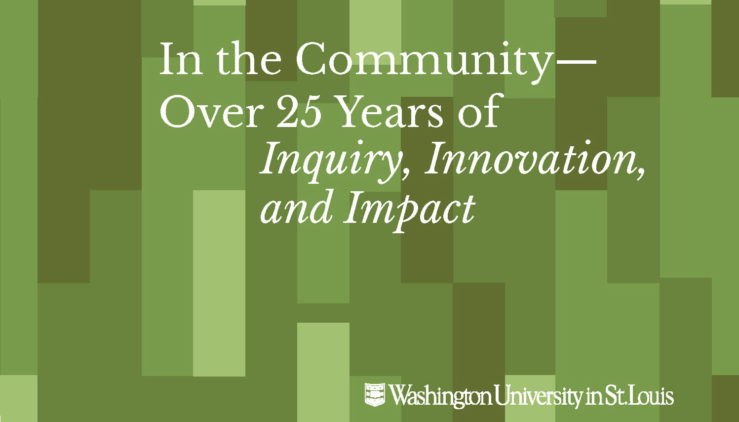 New CSD Report Celebrates over 25 Years in the Community