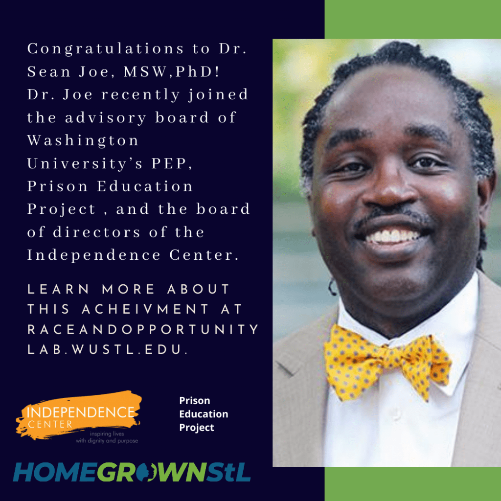 Congratulations to Dr. Sean Joe, MSW,PhD!